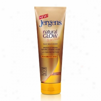 Jergens Natural Glow & Protect Daily Moisturizer Spf 20, Medium To Tan