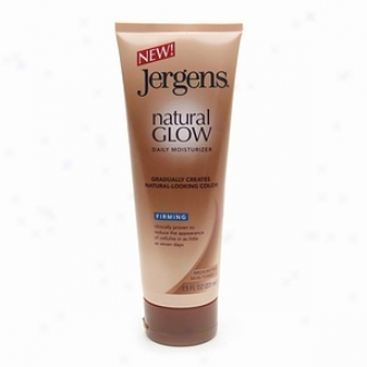 Jergens Natural Glow Firming Daily Moisturizer, Medium/tanS kin Tones