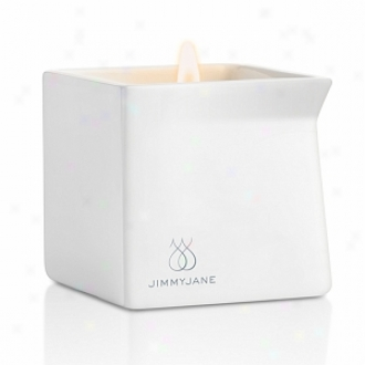 Jimmyjane Afterglow Natural Massage Candle, Dark Vanilla