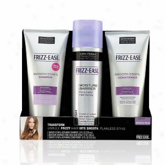 Jonh Frieda Frizz-ease Smooth Start And Moisture Barrier Special Pack, Repairing