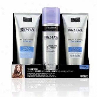 John Frieda Frizz-ease Smooth Starrt And Moisture Barrier Special Pack, Hydrating