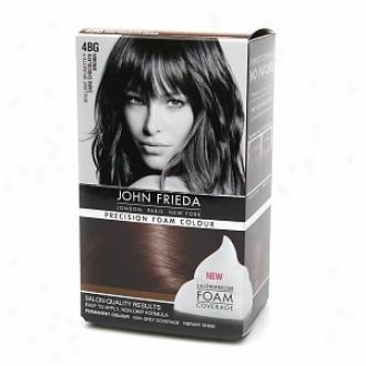 John Frieda Precision Foam Color Precision Foam Colour, 4bg Brilliant Brunette Dark Chocolate Brown