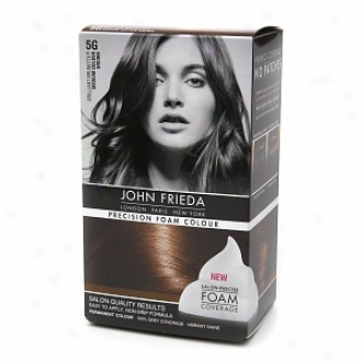 JohnF riexa Precision Froth Color Precision Foam Colour, 5g Brilliant Brunette Medium Golden Brown