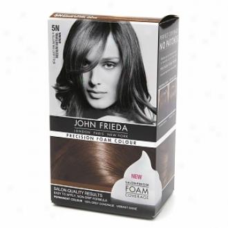 John Frieda Precision Foam Color Precision Foam Colour, 5n Briliant Brunette Mean average Natural Brown
