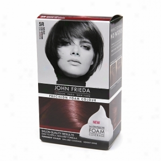 John Frieda Precision Foam Color Precision Foam Colour, 5r Radiant Red Medium Red Brown
