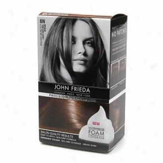 John Frieda Precision Foam Color Precision Foam Colour, 6n Brilliant Brunette Light Illegitimate Brown
