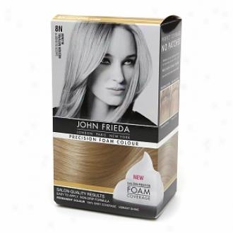 John Frieda Precision Foam Color Precision Foam Colour, 8n Sheer Blond Medium Natural Blonde