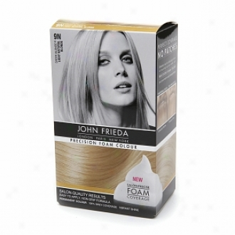 John Frieda Precision Foam Color Precision Foam Colour, 9n Sheer Blonde Light Natural Blonde