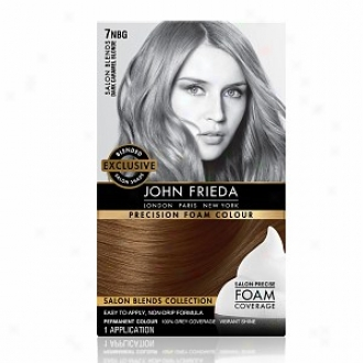 John Frieda Precision Foam Color Precision Foam Colour, Dark Caramel Blonde 7nbg