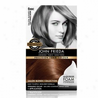 John Frieeda Precision Foam Color Precision Foam Colour, Light Bronze Brown 6nbc