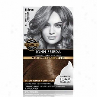 John Frieda Precision Foam Color Precision Foam Colour, Lightest Cool Almond Brown 6.5pbn