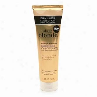 John Frieda Sheer Blonde Highlight Activating Enhancing Conditioner For Da5ker Hades, For Honey To Caramel Blondes