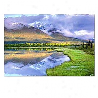 John N. Hansen Kingdom Of Mountains 3000 Piece Jigsaw Puzzle, Ages 12+