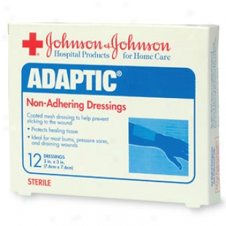 Johnson & Johnson Adaptic Non-adhering Dressings 3 X3