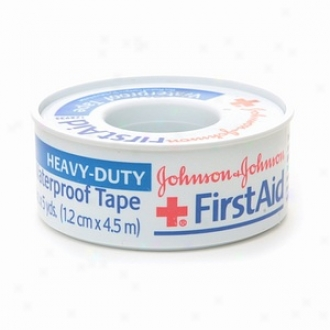 Johnson & Johnson First Aid Heavyduty Waterproof Tape, 1/2 In. X 5 Yds.