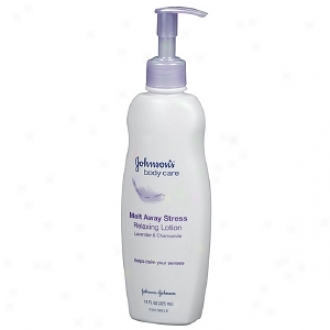 Johnson's Melt Away Stress Lavender &am;; Chamomile Relaxing Lotion