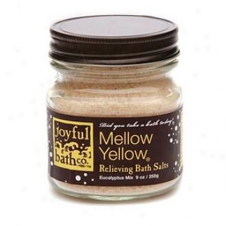 Joyful Bath Co Relieving Bath Salts, Mellow Yellow