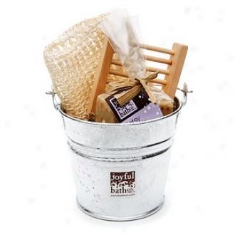 Joyful Bath Co Soap Gift Set, Relaxing Lavender Mix -oatsy Floatsie