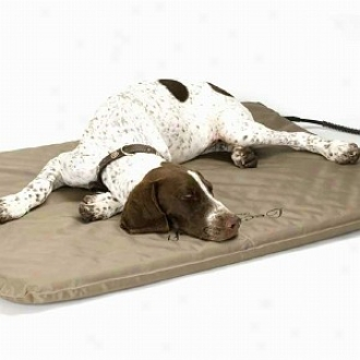 K & H Manufacturing Large Lectro Soft Outdoor Heated Pet Bed 25 X 36