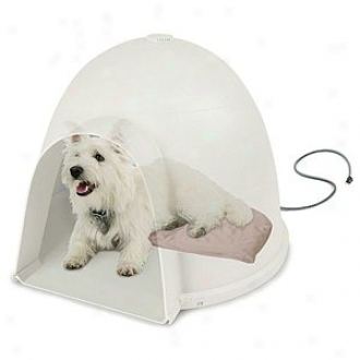K & H Manufacturing Lectro-soft Igloo Style Bed Medium 145. X 24 40 Watts