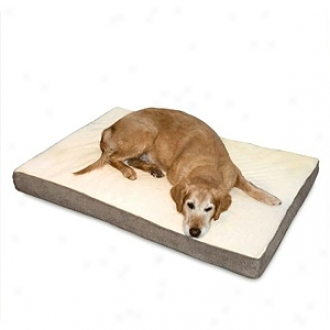 K & H Manufacturing Orthopedic Bed Superior Small Gray Paw Bone 20 X 300