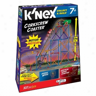 K'nex Amusement Park Series #2 Corkscrew Coaster Vertical Viper Ferris Wheel Ages 7+