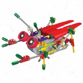 K'nex Micro-bots Series Scoter, Hopper, Speedy, Crawler Ages 7+