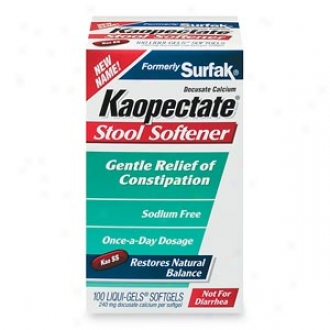 Kaopectate (formerly Surfak) Discharge Softener Liqui-gels