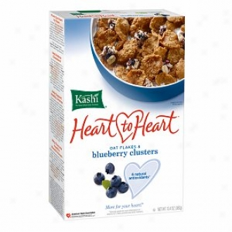 Kashi Heart To Heart Cereal, Oatflakea & Berry Clusters