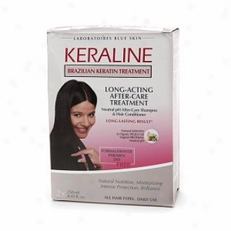 Keraline Long-acting After-care Treatment 2 X 8.45 Fl Oz