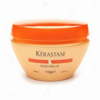 Kerastase Nutritive Oleo-relax Smoothing Masque For Dry, Rebellious Hair