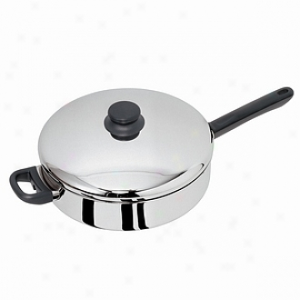 Kinetic Chicken Fryer, Stainless Steel Covered 12 Inch