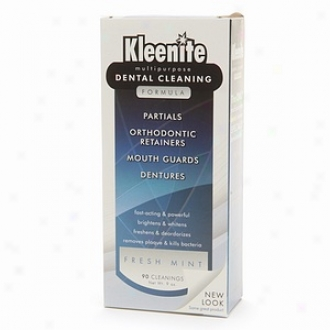 Kleenite Multipurpose Dental Cleaning Formula, Fresh Mint
