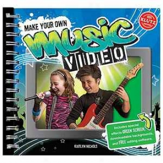 Klutz Make Your Own Music Video Activity Book Ages 8+