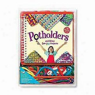 Klutz Potholders And Other Loopy Projects Activity Book Ages 6+