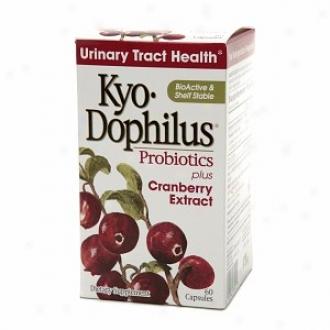 Kyolic Kyo-dophilus Probiotics Plus Cranberry, Capsules
