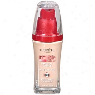 L'oreal Infalllible Advanced Never Fail Makeup Spf 20, Classic Ivory 603
