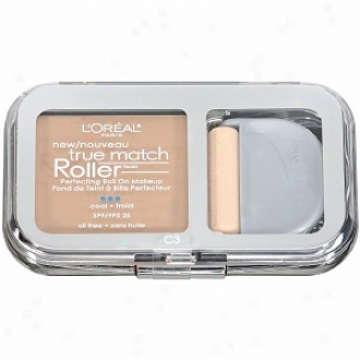 L'oreal True Match Roller Perfecting Roll On Makeup Spf 25, Creamy Natural C3