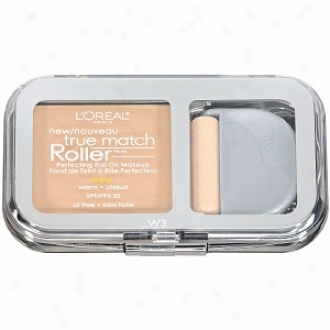 L'oreal True Competition Roller Perfecting Roll On Makeup Spf 25, Nude Beige W3