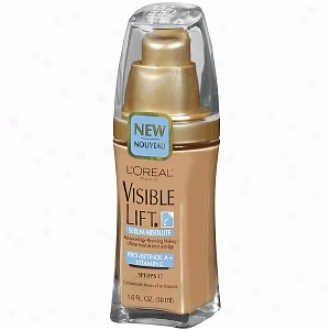 L'oreal Visible Lift Acvanced Age-revversing Makeup Spf 17, Sand Beige