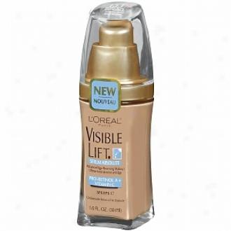 L'orela Visible Lift Serum Absolute Advanced Age-reversing Makeup Spf 17, Natural Beige