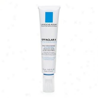 La Roche-posay Effaclar K Diurnal Renovating Anti-relapse Salicylic Acid Acne Treatment