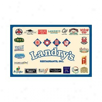 Landry's Traditional Gift Card $50.00