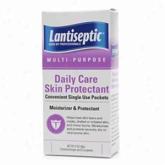 Lantiseptic Daily Care Skin Protectant, Single Use Packets