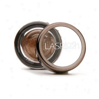 Lasplash Cosmetics Diamond Dust Body & Face Glitter Minersl Eyeshadow, Russet (brown With Gold)
