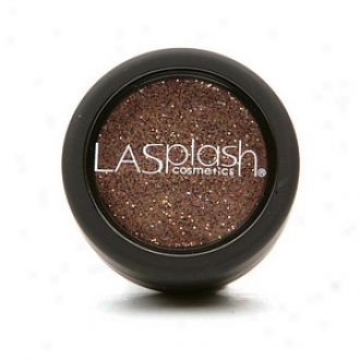 Lasplash Cosmetics Glitz Cream Glitter Shadow, Amazonian (brown Glitter)