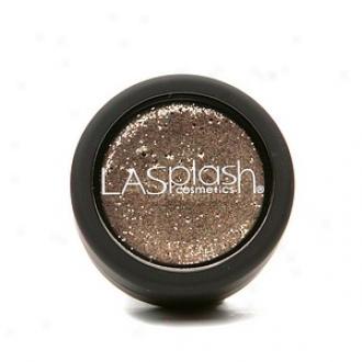 Lasplash Cometics Glitz Cream Glitter Shadow, Courtship (gold Glisten)