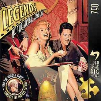 Legend Of The Silver Screen Legends Of The Silver Screen Classic Interlude: 750 Pc Ages 8 And Up