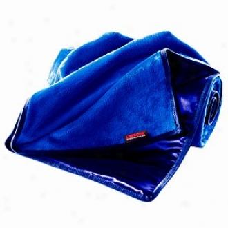 Liberator Fascinator Shag Throe, Blue/blue