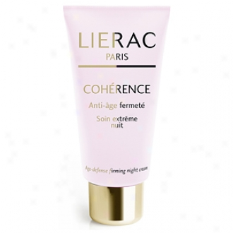 Lierac Paris Coherenec Age-defense Firming Night Cream